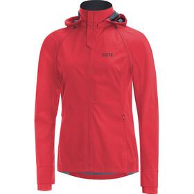 GORE WEAR R3 Gore Windstopper Zip-Off Jacket Women, rojo